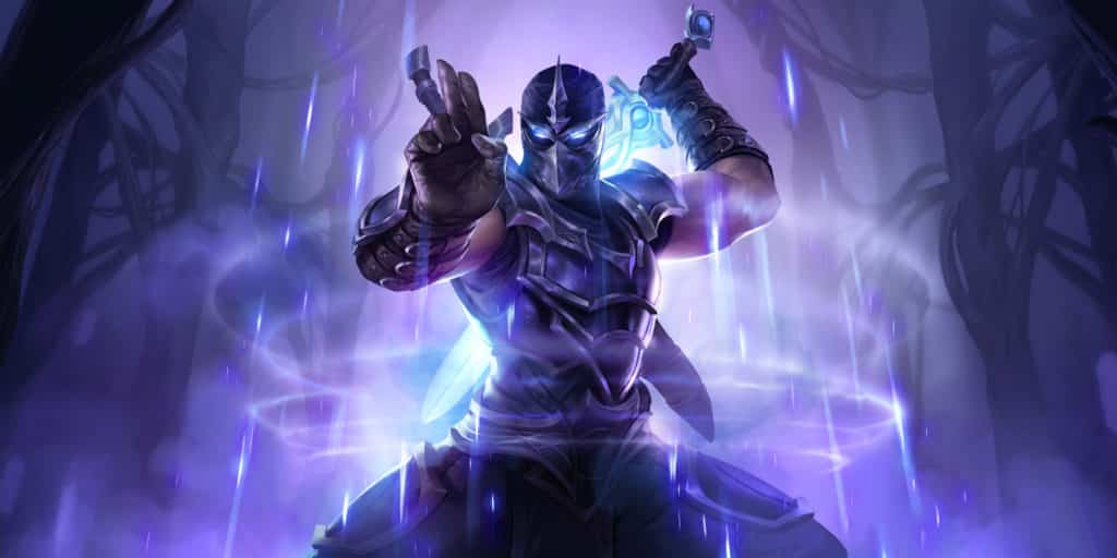 Official Shen League of Legends Art, with the standard skin.