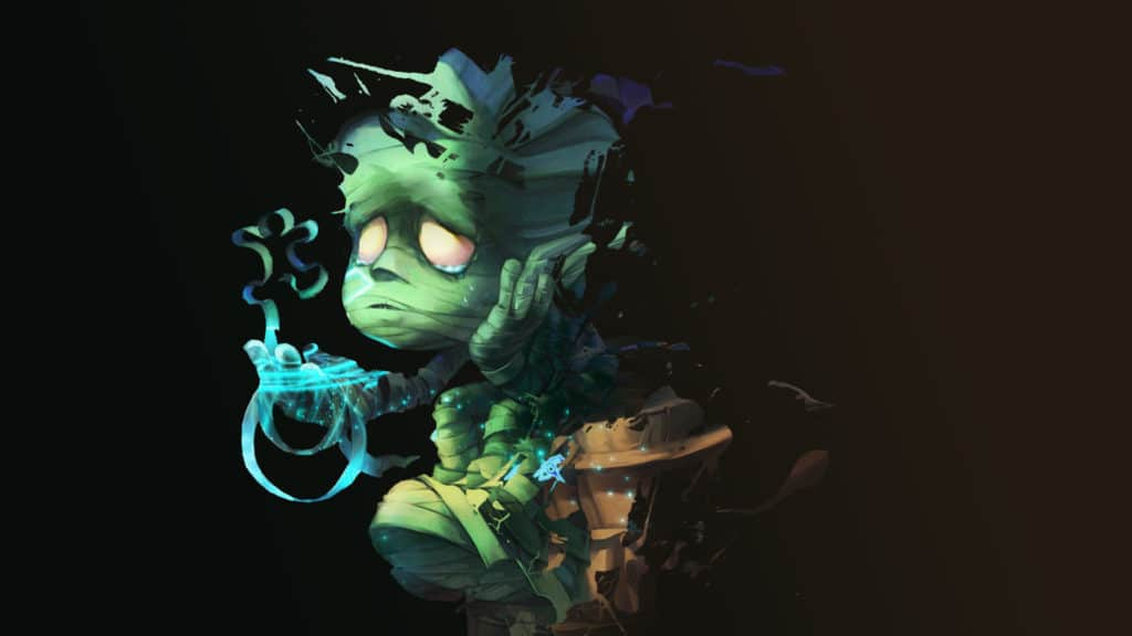 Sad amumu fan art sitting alone because of OCE decrease in players