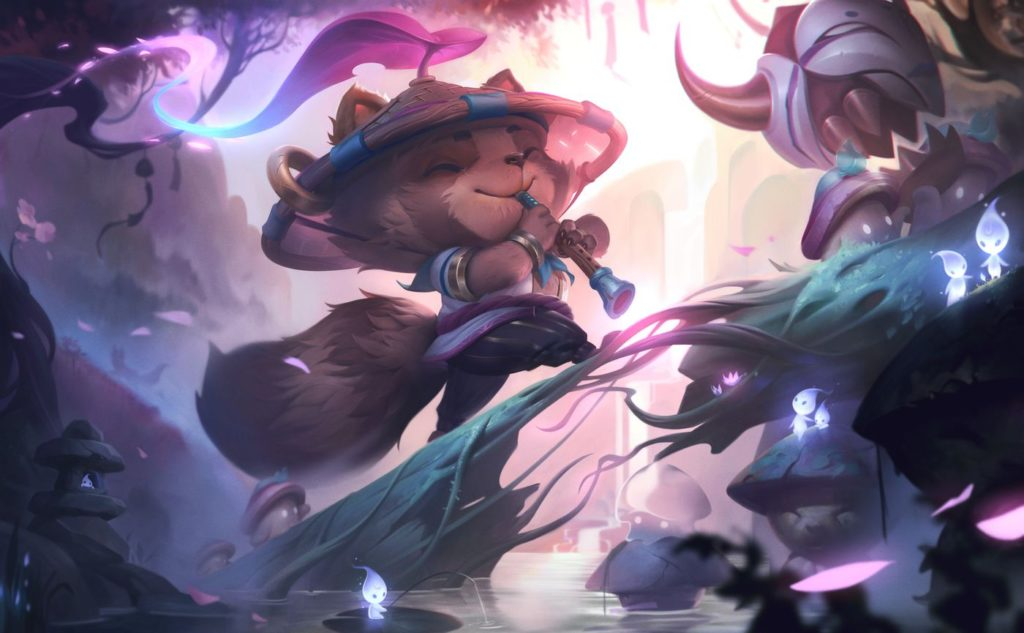 Teemo, The Trickster in an alternate storyline