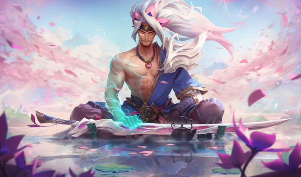 Yasuo as one of the brothers in an alternate storyline