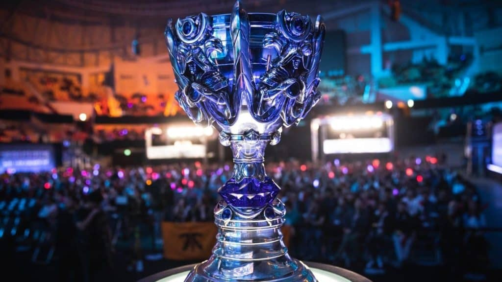 League of Legends World Championships Trophy