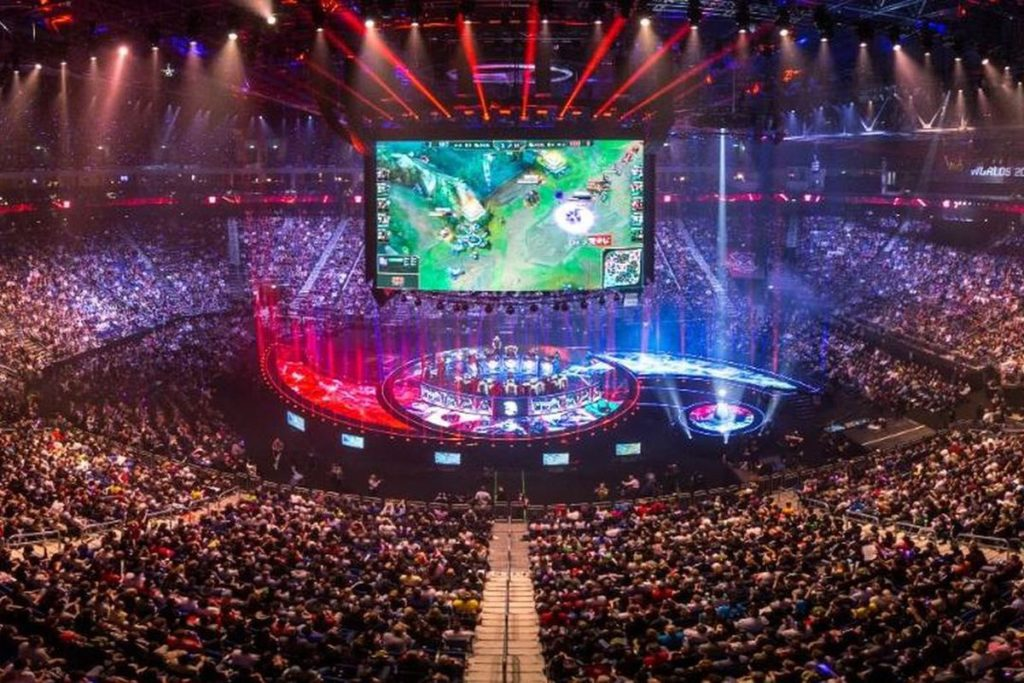 Worlds 2019 stadium filled with a lot of people