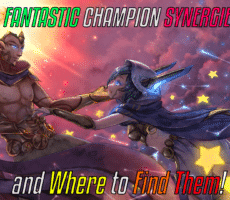 Champion Synergies and Where to Find Them