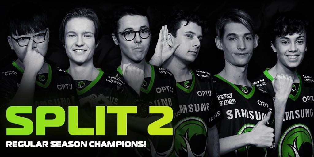 Legacy Esports OPL Champions for Split 2