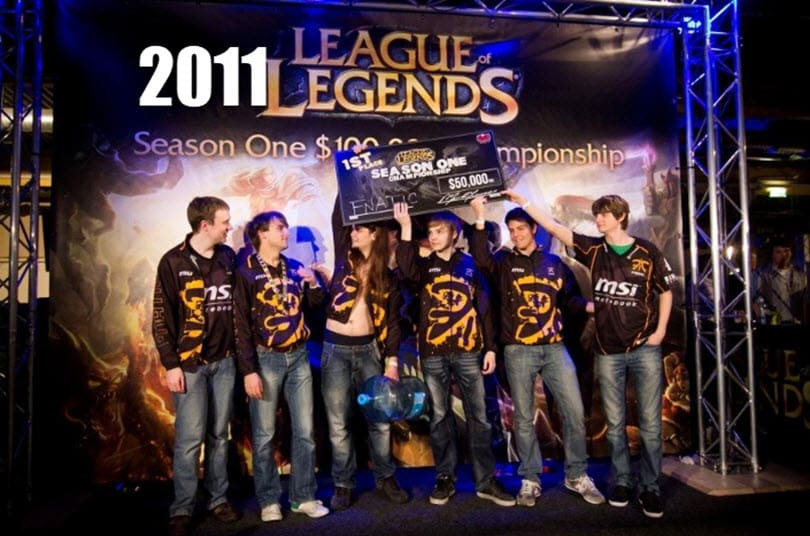 Fnatic wins the very first LoL World Championships