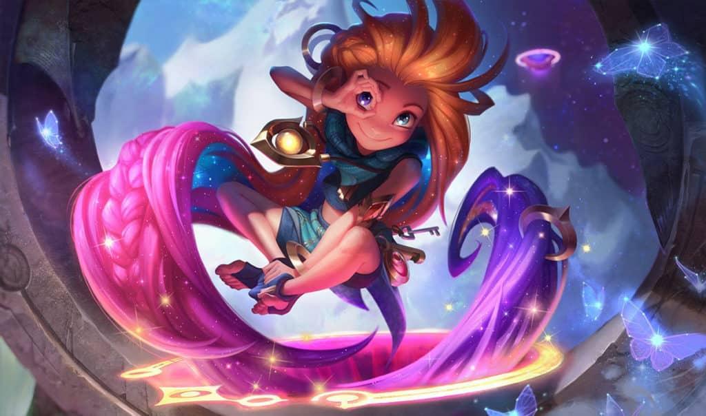 Zoe splash art - League of Legends
