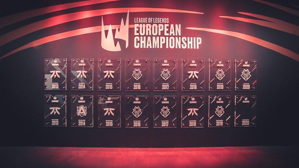 FNC vs G2 Championship Title counts