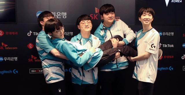 Damwon Gaming LCK 1st Seed
