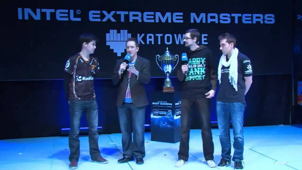 xPeke and ocelote being interviewed after SK's loss