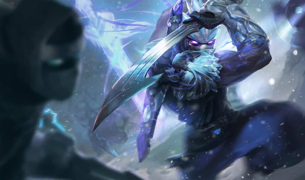 Shen wielding frozen blades   Shen guide
