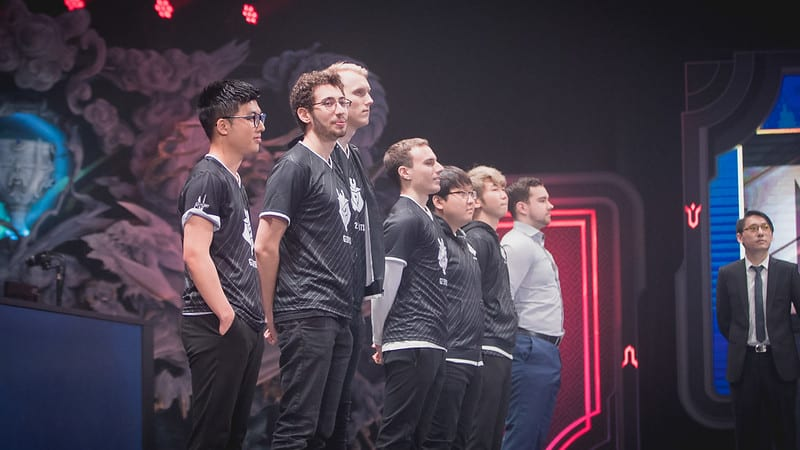 G2 Esports official roster in 2017