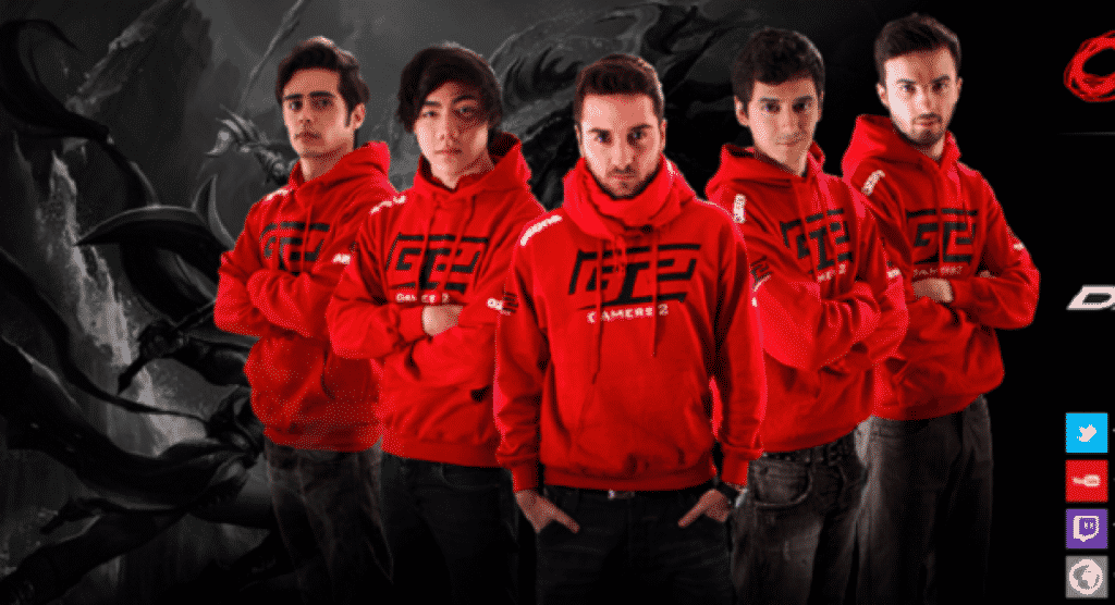 The Gamers2 Official Roster