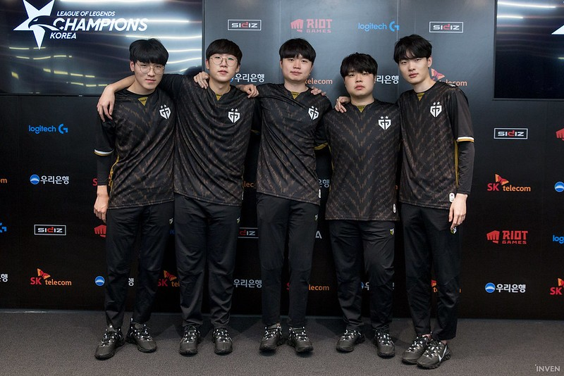 Gen.G Full Roster Worlds Top Teams