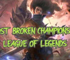 Top 10 Most Broken Champions in League of Legends