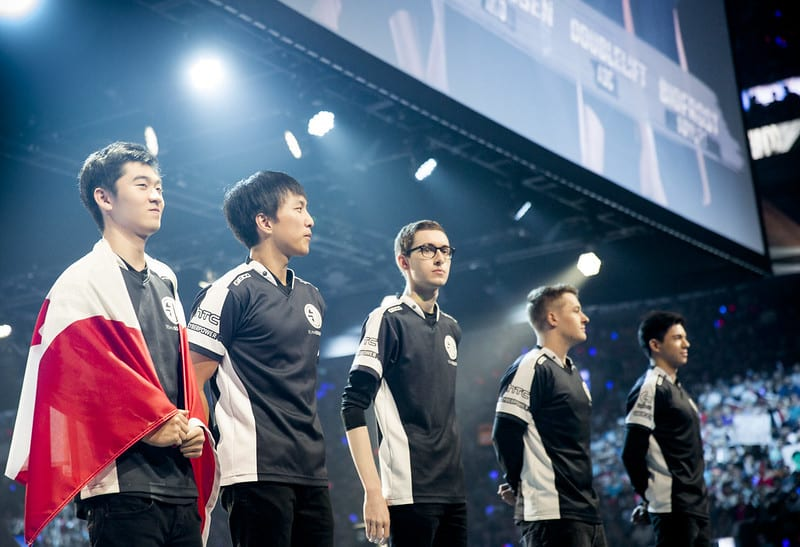 Team SoloMid representing North America at Worlds
