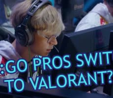 Why Pros Switch From CSGO to Valorant