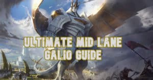 Galio Mid Lane Guide Poster