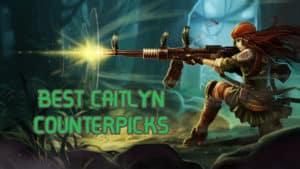 Resistance Caitlyn | Caitlyn Counterpick Banner