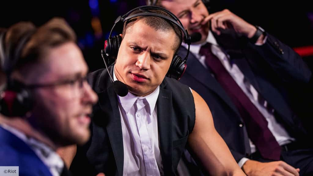 Tyler1 casting the Tyler1 Championship Series