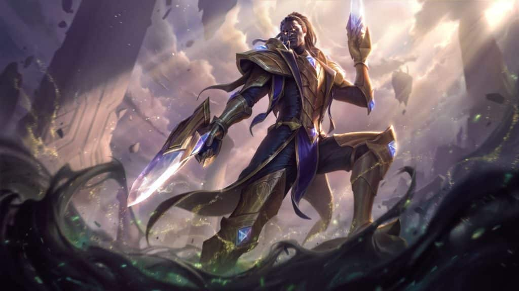 Victorious Lucian, using crystal guns | Ranked Rewards 2020