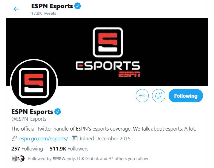 ESPN Esports Twitter Banner