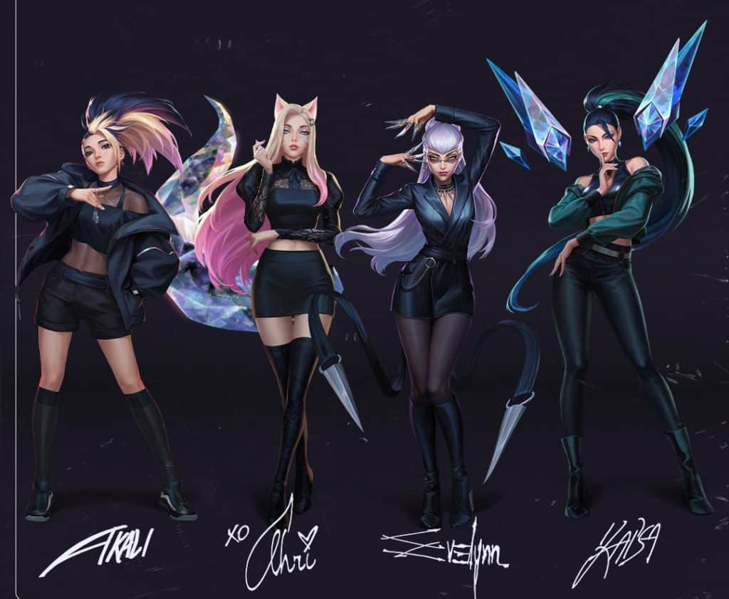 All KDA Members with their signatures