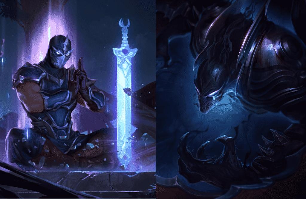 Shen and Nocturne splash art