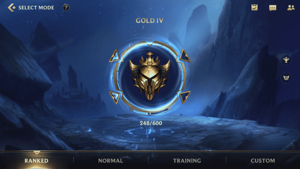 Updated ranked system in wild rift beta