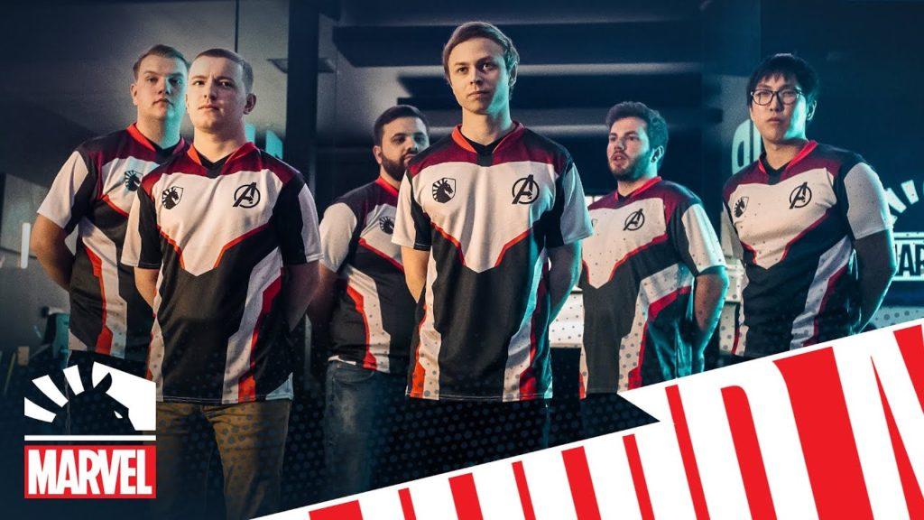 Team Liquid Jerseys partnered with Marvel