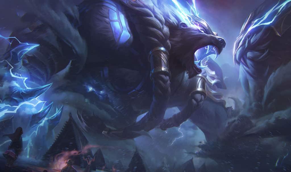 Thunder Lord Volibear vs Thunder Lord Ornn