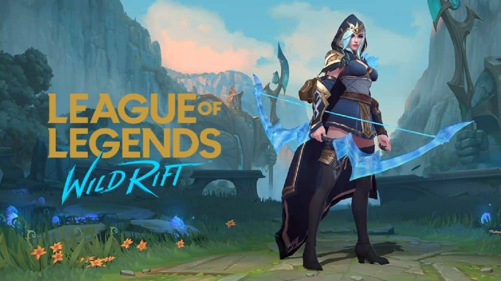 League of Legends Wild Rift Beta Champions - Ashe
