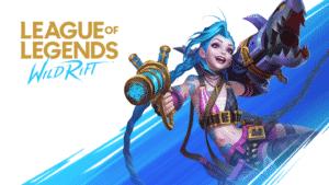League of Legends Wild Rift Promotional Banner - Jinx