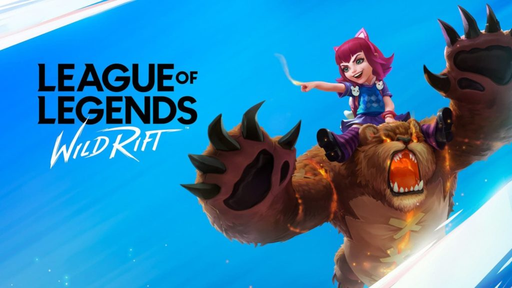 Annie and Tibbers on the Wild Rift Esports Banner