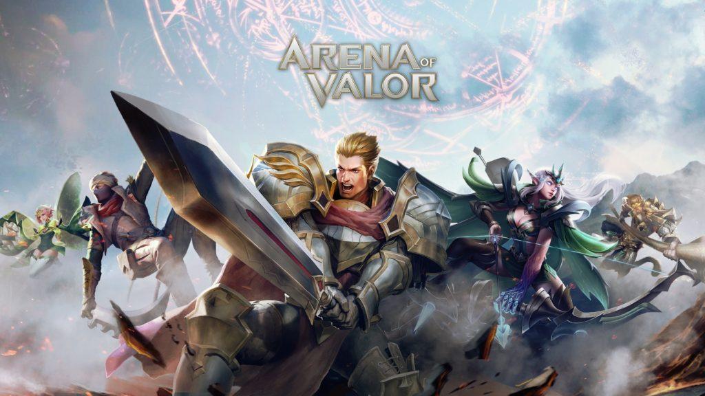 Garena's Arena of Valor Mobile Game MOBA Banner