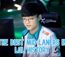 Top 10 Best Mid Laners in LoL History