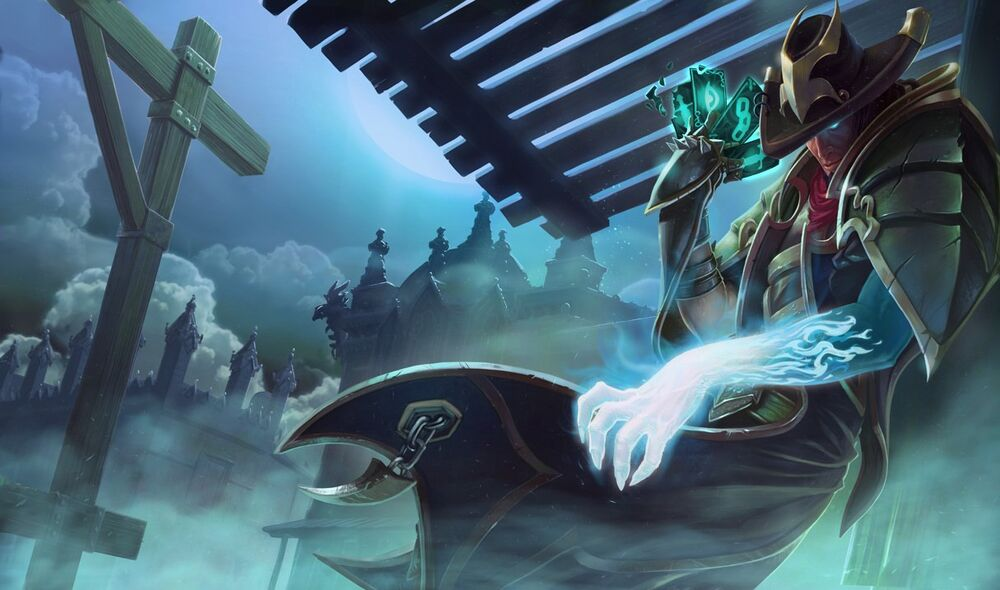 Twisted Fate in the underworld waiting for the next victim best split pushers in LoL