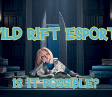 League of Legends: Wild Rift Esports?