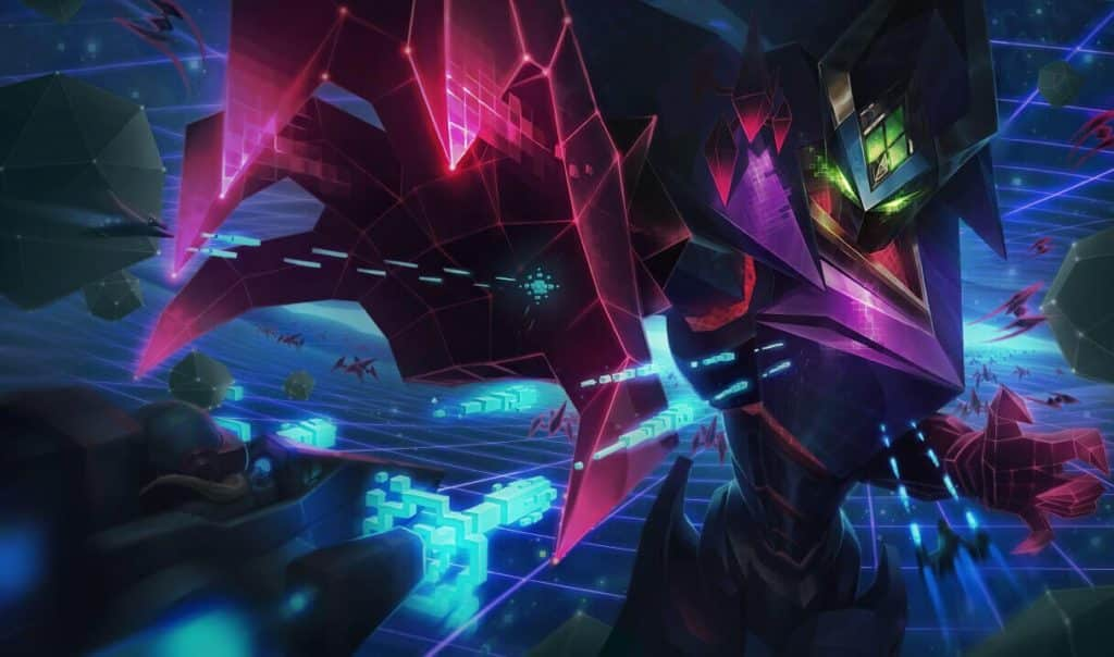 Malzahar as a 3D Video Game boss