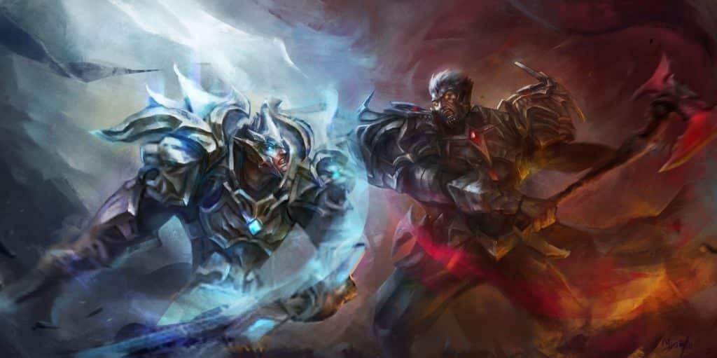 Darius and Garen clashing | Learn One Champion