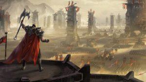 Darius ordering a large Noxus army