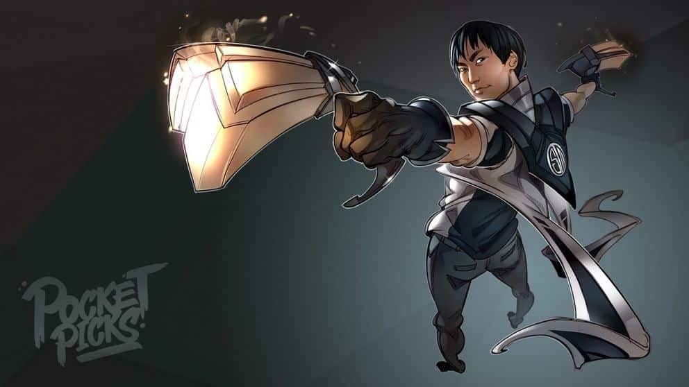 Doublelift holding Lucian's Guns | Learn One Champion