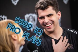 Bwipo getting interviewed post game   Watch Pro LoL games banner