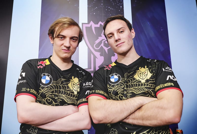 Caps and Perkz looking at the camera - LoL Challenger Secrets