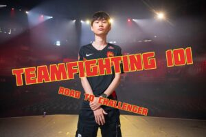 FPX Doinb standing over the stadium | LoL Teamfighting 101