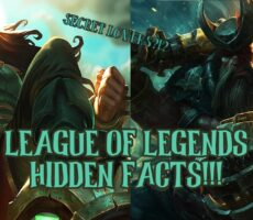 11 League of Legends Facts That Will Keep You Up At Night!