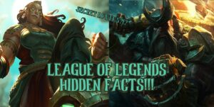 Gangplank and Illaoi side by side   League of Legends facts banner