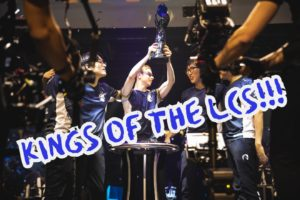 Team Liquid wins the LCS Championship | LCS Lock-in Banner