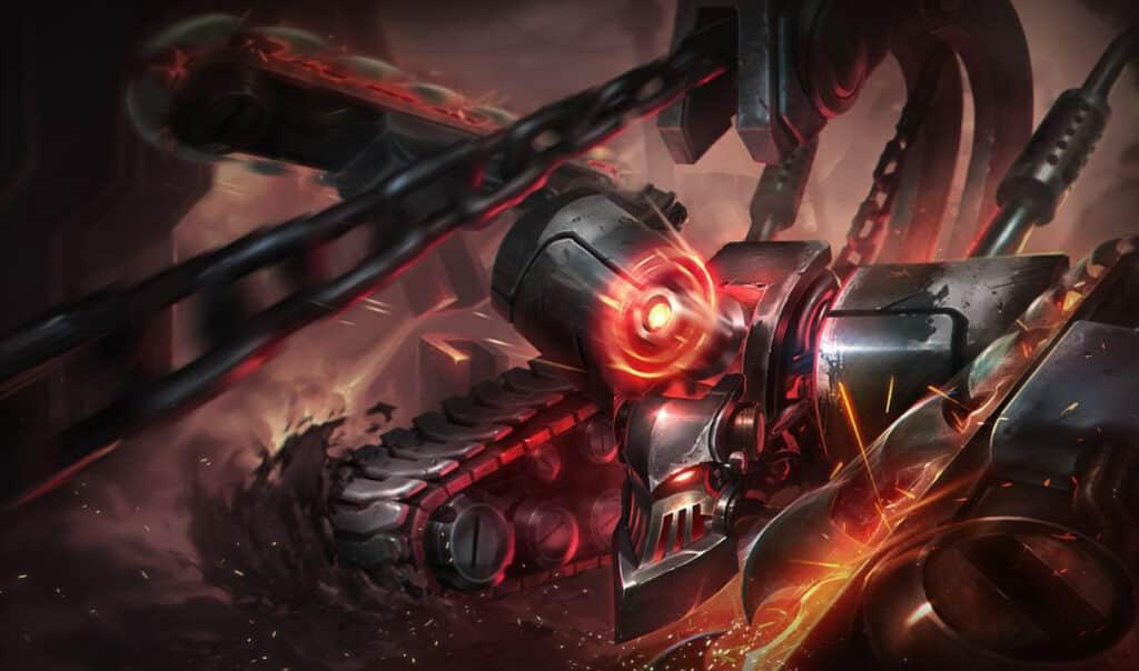 Cyborg version of Skarner