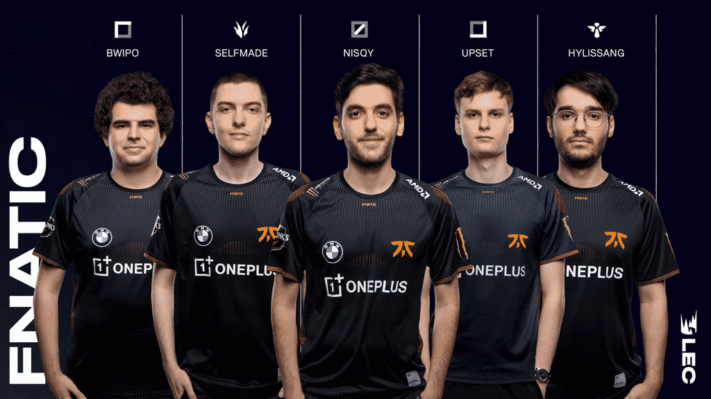Fnatic Complete Roster - Bwipo, Selfmade, Nisqy, Upset, Hylissang