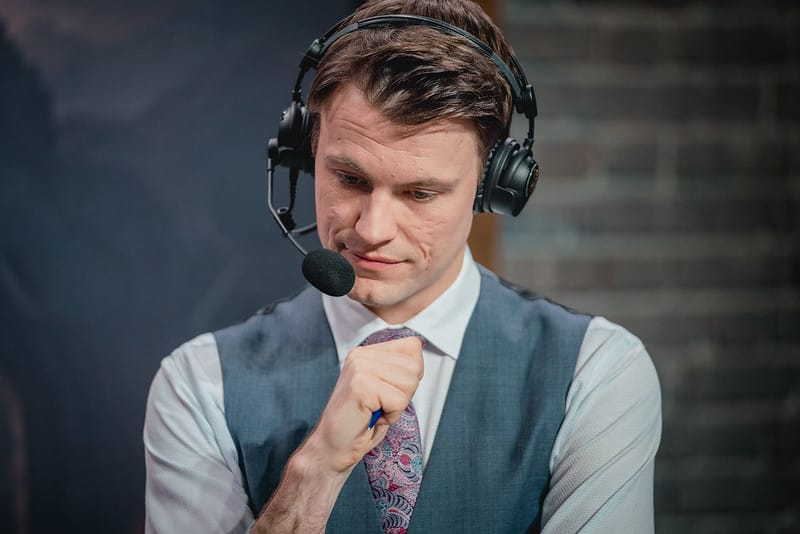 Quickshot staring intently on the screen